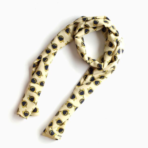 yellow silk shawl summer vibes